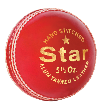 MRF Cricket Ball - Star (Alam Tanned)