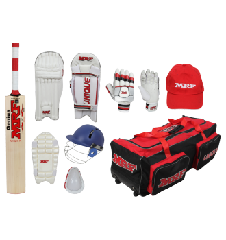 MRF Unique English Willow Cricket Kit
