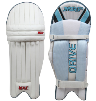 MRF Batting Leg Guard Drive